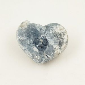 Accents - Crystal Celestite Heart Small
